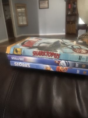 Cartoon dvds 5.00 for all no scratches serious buyers only for Sale in Victoria, TX