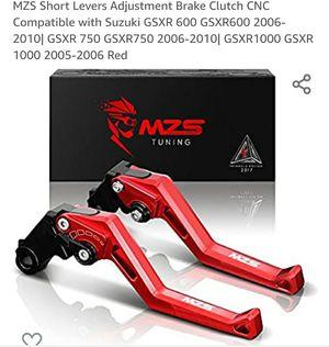 Brake and Clutch Levers SUZUKI GSXR MOTORCYCLE!!! for Sale in Vienna, VA