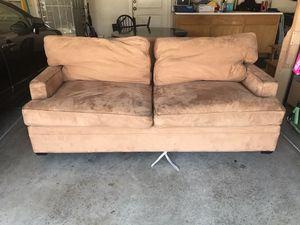 Golden brown Sofa sleeper by Legget & Platt for Sale in Modesto, CA