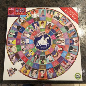 VOTES FOR WOMEN 500-Piece Round Puzzle for Sale in Austin, TX