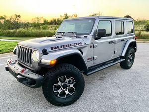 """5 USED 2019 Jeep Wrangler JL Rubicon 17"""" Factory OEM Wheels Rims BFG KO2 Tires for Sale in Tampa, FL"""