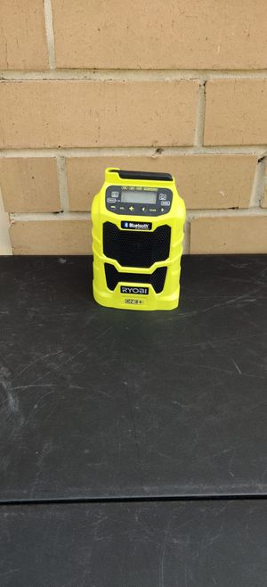 Ryobi 18v Bluetooth Radio New Tool Only for Sale in Irving, TX