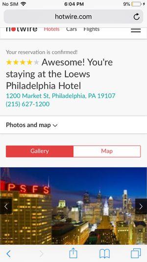 Loews Philadelphia Hotel vday for Sale in Bala Cynwyd, PA
