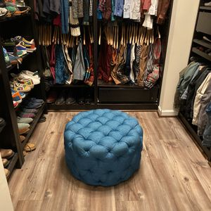 Turquoise Ottoman for Sale in Greater Upper Marlboro, MD