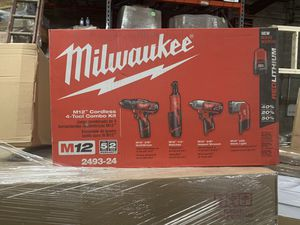 Milwaukee 4 tool Kit for Sale in Baltimore, MD