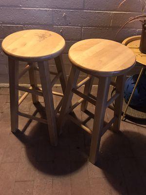 Wood bar stools for Sale in Tucson, AZ