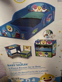 Baby Shark 4 In 1 Bedroom Set for Sale in Barnegat Township,  NJ