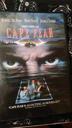 Cape Fear DVD for Sale in Tracy,  CA
