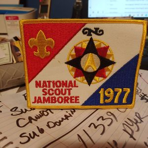 Hard To Find 77 Biy Scout Jamboree Patch for Sale in Griffith, IN