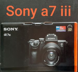 Sony a7iii with FE28-70mm, a7 III, a7m3 for Sale in Miami, FL
