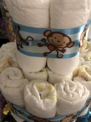 23 newborn diapers $5 for Sale in Anaheim, CA