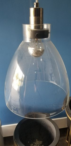 Glass Pendant Lights set of 3 for Sale in Escondido, CA