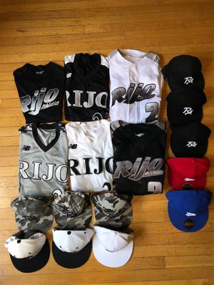 Rijo Athletics jerseys and baseball hats for Sale in Seattle, WA