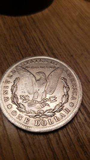 1891-CC MORGAN SILVER DOLLAR for Sale in Los Angeles, CA