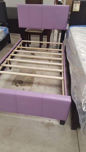 Brand New Twin Size Purple Lilac Platform Bed Frame for Sale in Silver Spring, MD