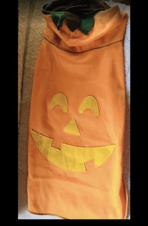 Halloween 🎃 Pumpkin hooded Dog costume for Sale in South Gate, CA