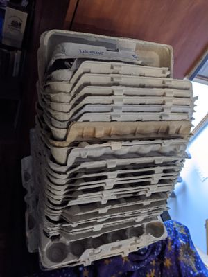 22 egg cartons for Sale in Seattle, WA