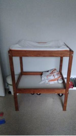 IKEA changing table with pad and covers for Sale in Portland, OR