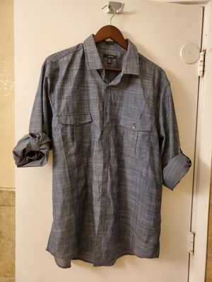 ALFANI FOLD UP LONG SLEEVE BUTTON UPSHIRT for Sale in Fresno, CA