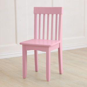 KidKraft kids toddler pink wood desk chair for Sale in Anaheim, CA