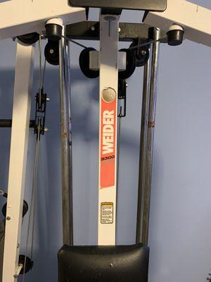 Weider 9300 Pro weight machine for Sale in Buckley, WA
