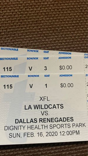 XLF Tickets for sale for Sale in Los Angeles, CA