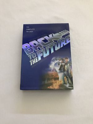DVD Back To The Future Trilogy 3 Disc Set Clean Discs for Sale in Reedley, CA