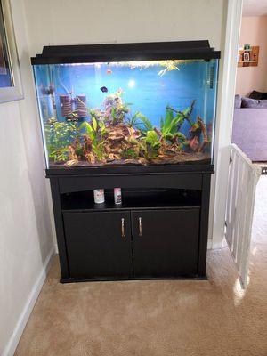 48 gal aquarium and stand for Sale in Hampton, VA