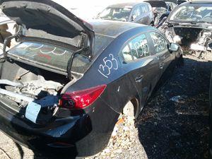 Selling Parts for a Black 2014 Mazda 3 STK#1353 for Sale in Detroit, MI