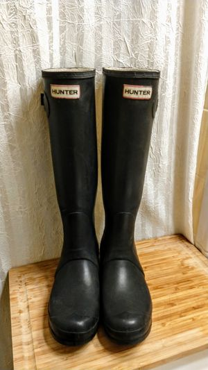 HUNTER • RAIN BOOTS • Womens 9 • GREAT CONDITION for Sale in SeaTac, WA