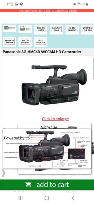 Brand new Panasonic Proline camera for Sale in White Hall, WV