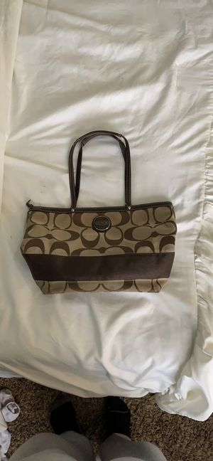 Brown Coach purse for Sale in Edgemere, MD