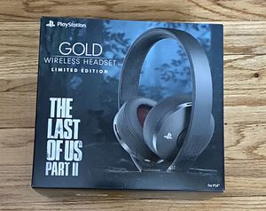 The Last Of Us 2 Gold Wireless Headset For PS4 for Sale in Winthrop, MA