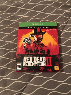 Red Dead Redemption 2 for Xbox One New in Box for Sale in Missoula, MT
