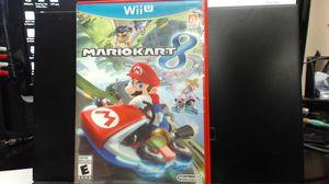 Mario Kart 8 (Nintendo Wii U, 2014) for Sale in Lake Elsinore, CA