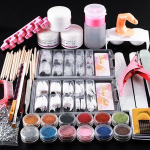 COSCELIA Acrylic Nail Kit Manicure Set Nail Art Tools Kit Acrylic Powder With Acrylic Liquid False Nail Tips for Sale in East Los Angeles, CA