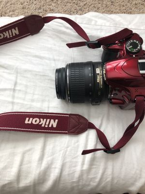 Nikon D3200 with 18-55 lens for Sale in Durham, NC