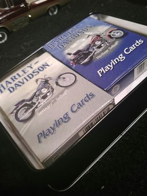 Harley Davidson Playing Cards for Sale in Wichita, KS