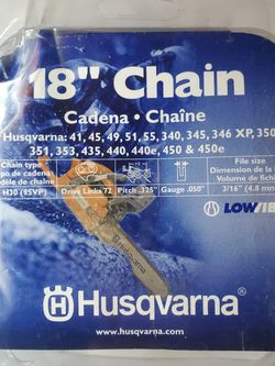 "Chainsaw 18"" Husqvarna- NEW for Sale in Las Vegas,  NV"