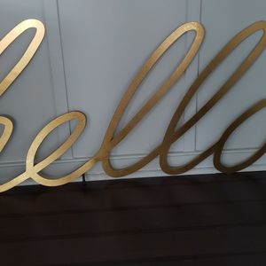 Large Hello Sign By Ridell. 51 Inches Wide. New! for Sale in Fairfax, VA