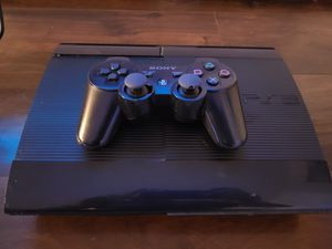 PS3 Slim with 5 games + external HD for Sale in Molalla, OR