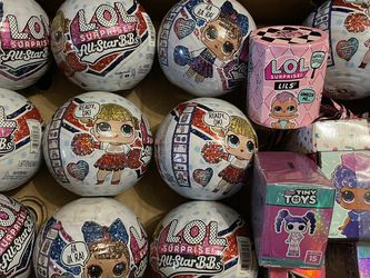 LOL Surprise Dolls All-Star BB's Lot of 15 for Sale in Bellingham,  WA