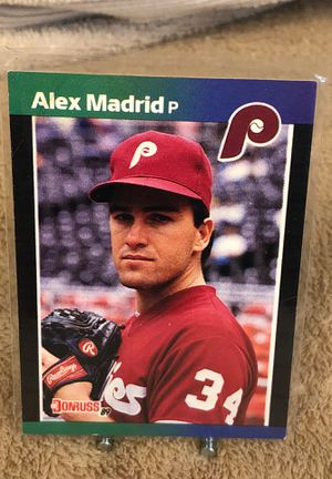 CARD BASEBALL ALEX MADRID ROOKIE CARD for Sale in Downey, CA
