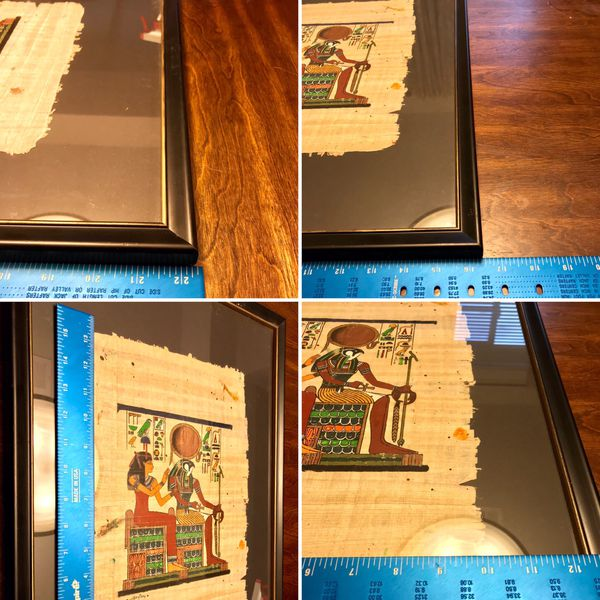 Ancient Egyptian Art on Papyrus