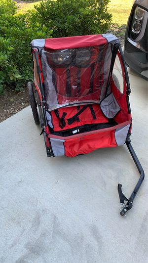Two Seat Portable Bike Trailer for Children for Sale in Rancho Cucamonga, CA