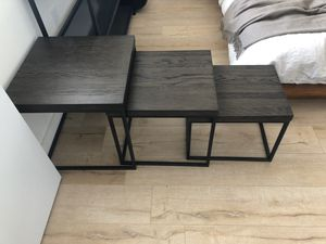 Real wood coffee / side tables for Sale in Miami, FL
