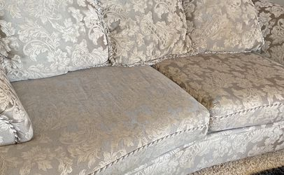 FREE COUCH AND COUCH COVER for Sale in Pearland,  TX