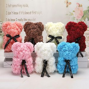 Handcrafted rose teddy bear for Sale in Brentwood, CA