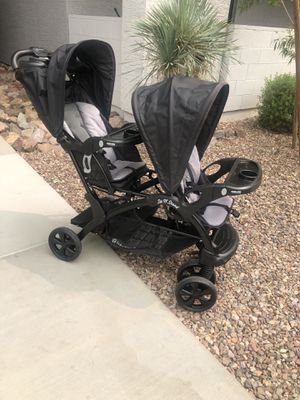 Baby trend sit n stand double stroller for Sale in Phoenix, AZ