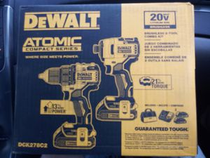 20v DeWalt Atomic Series Drill and Impact combo for Sale in Baton Rouge, LA